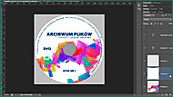 Adobe Photoshop. Grafika na płytę DVD, CD