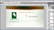 Tutorial Corel/Photoshop. Projektowanie wizytówek